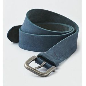 American Eagle Men's Distressed Dyed Leather Belt